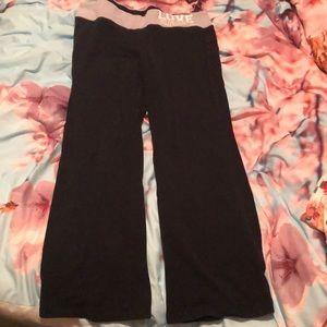e79002ed50 SO yoga pants bootleg style fold over waist sz XL
